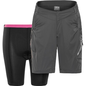 Endura Hummvee Lite Shorts with inner pants Women grey